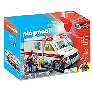 PLAYMOBIL Rescue Ambulance Playset 7
