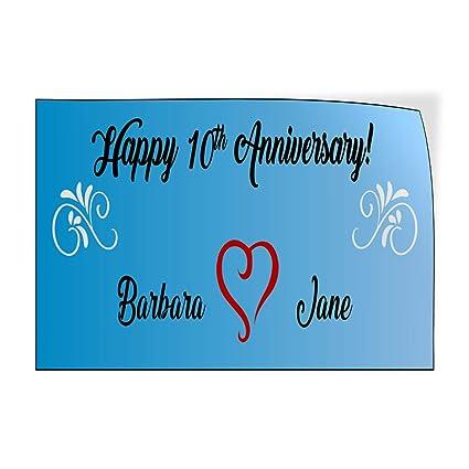 Happy Anniversary! Congrats - Pegatinas de vinilo para puerta ...