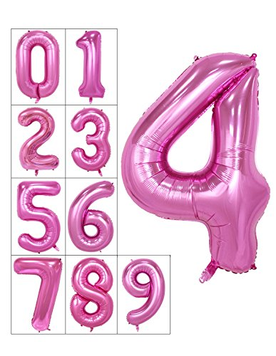 40-inch-numbers-0-9-pink-helium-foil-digital-mylar-balloons-for-birthday-party-number-4