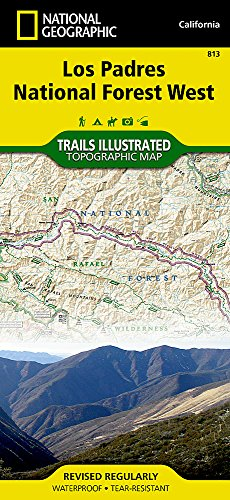 Los Padres National Forest West (National Geographic Trails Illustrated Map)