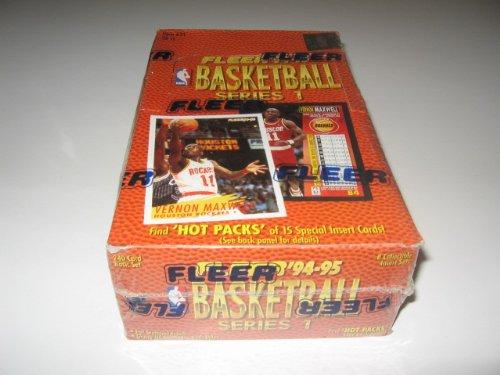 (1994/95 Fleer Basketball Series 1 Box)
