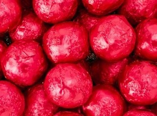 Red Foiled Milk Chocolate Balls 5LB Bag by The Nutty Fruit House by The Nutty Fruit House (Image #1)