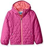 Columbia Big Girls' Bella Plush Jacket, Deep Blush, Large