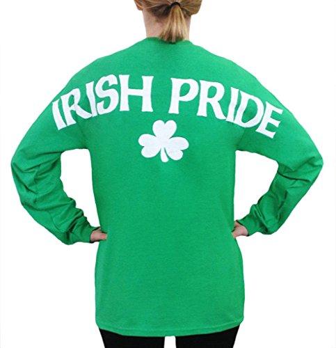 Irish Pride Stadium Jersey T Shirt Green XXL