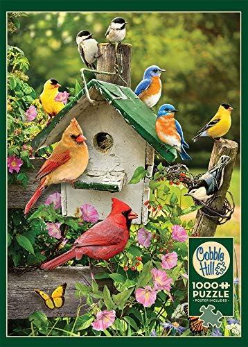 1000-Piece Puzzle Cobble Hill Summer Birdhouse