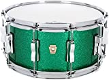 Ludwig Classic Maple Snare Drum - 6.5'' x 14'' Green Sparkle