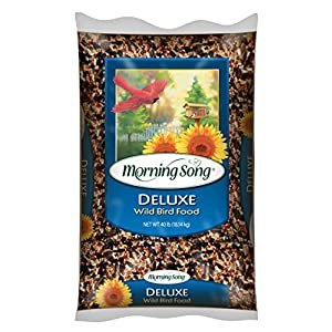 Morning Song 11353 Deluxe Wild Bird Food, 40-Pound 34