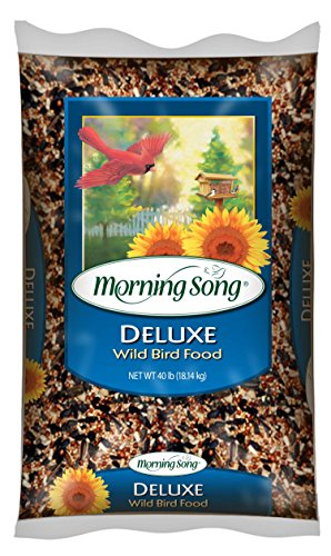 Morning Song 11353 Deluxe Wild Bird Food, 40-Pound
