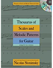Nicolas Slonimsky: Thesaurus of Scales and Melodic Patterns (Guitar)