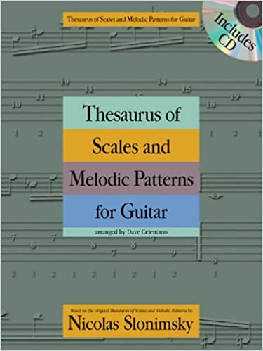 Book Thesaurus of Scales and Melodic Patterns for Guitar