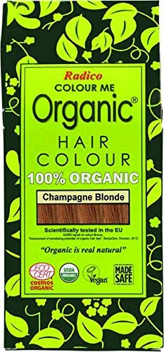 Radico - Tinte vegetal orgánico para el cabello - Rubio Champagne