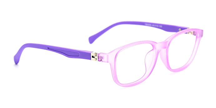 Amazon.com: TIJN Kids Flex Oval Eyeglasses Frame for Boys Toddler ...