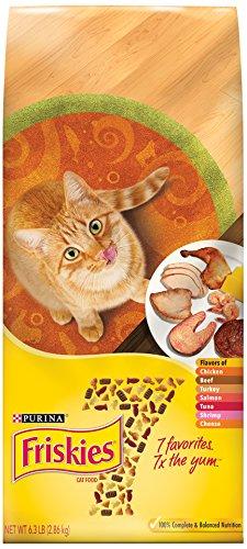 Purina Friskies 7 Cat Food - (1) 16 Lb. Bag