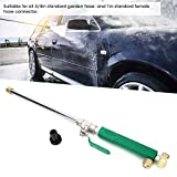 Car Wash Water Gun, Adjustable Water Jet High