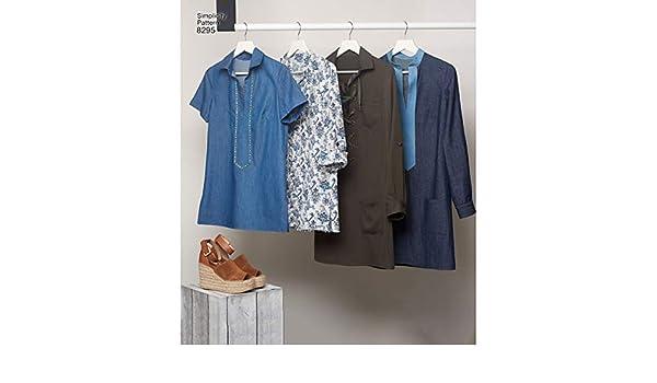 6-8-10-12-14 Simplicity SIM PAT 8341 Misses Dress Top and Knit Leggings by Mimi G H5