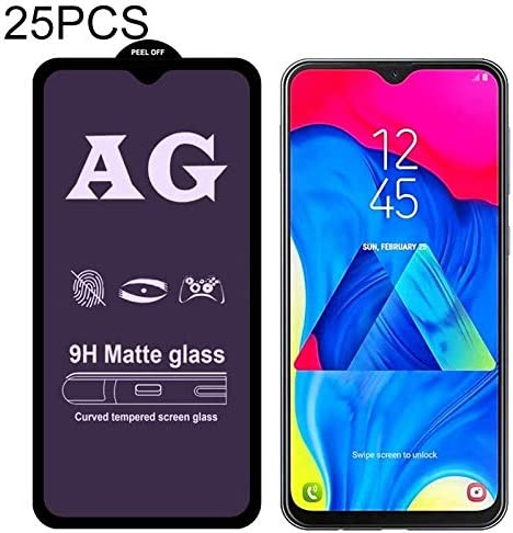 LGYD 25 PCS AG Matte Anti Blue Light Full Cover Tempered Glass for Galaxy A60 Screen Protector Film