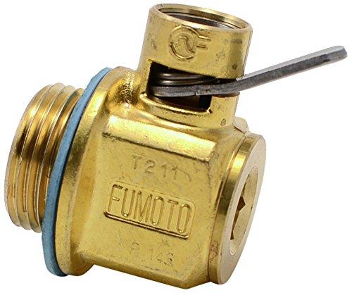 Fumoto T-211 T-Series Engine Oil Drain Valve, 1 Pack