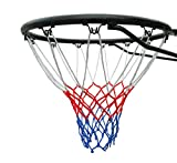 Official Size (45 Centimeter ) Basketball Ring, Hoop Net and Wall Mounting Fixings. Suitable for Adults and Children