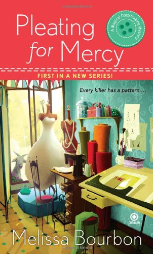 Pleating for Mercy (Magical Dressmaking Mystery, Book - Charleston Center Town