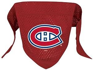 e77a6fa94 ... Dog Jersey NHL Montreal Canadiens Pet Bandana ...