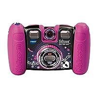 Cámara VTech Kidizoom Spin and Smile, Violet Pink