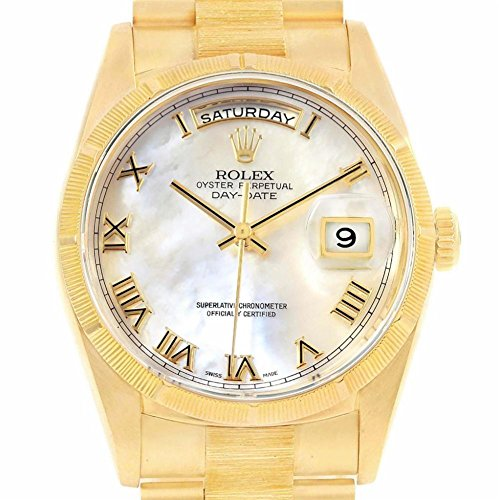 Rolex Mens President Watch (Rolex Day-Date automatic-self-wind mens Watch 18248 (Certified Pre-owned))