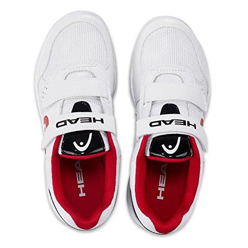 white Mixte Velcro black Blanc Sprint 0 Tennis 2 De Chaussures Junior Head Enfant P8wfOqHW