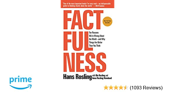 Factfulness: Ten Reasons We're Wrong About the World_and Why