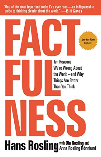 Factfulness Ten Reasons Were Wrong About the World--and Why Things Are Better Than You Think [Rosling, Hans - Rönnlund, Anna Rosling - Rosling, Ola] (Tapa Dura)