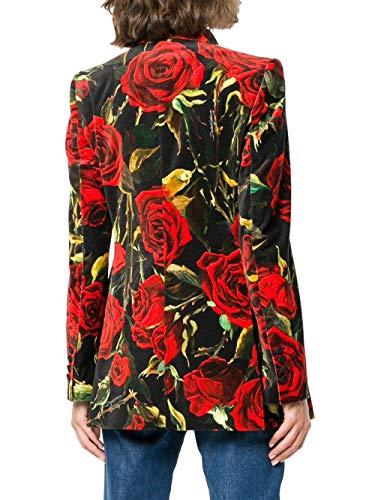 Noir Dolce rouge Gabbana E Femme Coton F298itfswbchni1s Veste qUFFpCxw