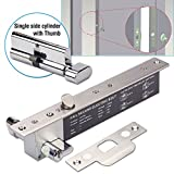 Electric Bolt Lock, ZOTER Home Office Lock Time Delay Autolock NO Fail Secure with Key for Access Control