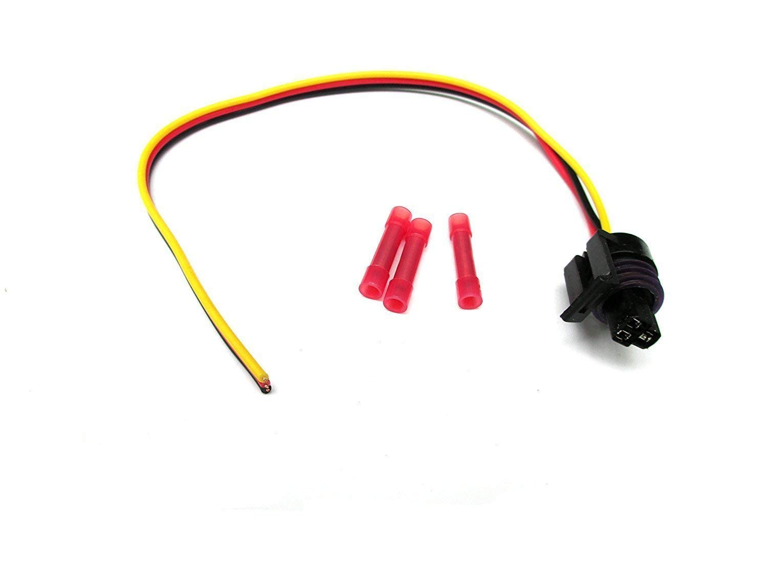 Fuel Injection Pressure Sensor ICP w//Pigtail For Ford 7.3L Powerstroke w//Pigtail Harness F250 F350 F450 Powerstroke ICP102 F4TZ-9F838-A F6TZ-9F838-A 1807329CP2 5S2062 Carb Omar