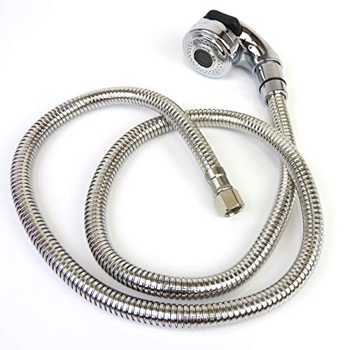(Salon Shampoo Bowl Unit Sink Replacement Part Chrome Sprayer Hose SA-17A)