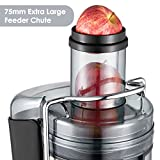 : Aicok Juicer Wide Mouth Juice Extractor 1000 Watt Centrifugal Juicer Machine Powerful Whole Fruit and Vegetable Juicer with Juice Jug and Cleaning Brush,2 Speed Setting
