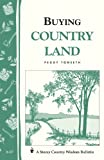 Buying Country Land, Peggy Tonseth, 0882662813
