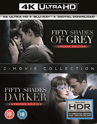 Fifty shades darker + fifty shades of grey Bd + digital Copy Blu-ray 2017