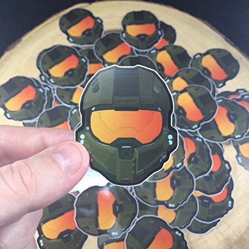Halo 5 Master Chief Helmet Sticker Buy Online In Qatar