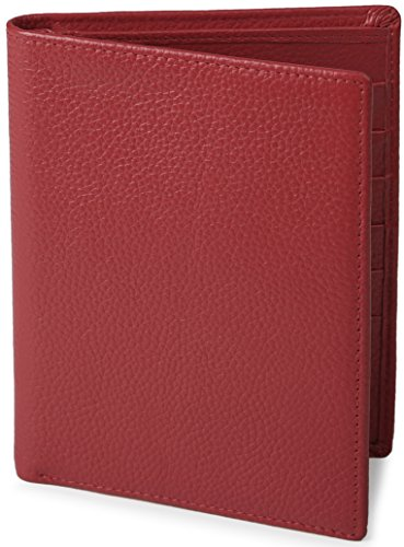 Shvigel RFID Passport Wallet - Leather