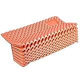 Foldable Ultra-Light Sleeping Pad,Waterproof Corrosion Dustproof Aluminium Film Camp Mat Soft Egg Carton