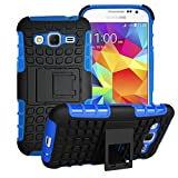 Samsung Galaxy Core Prime Case Cover -Lantier Tough Rugged Dual Layer Protective Case with Kickstand for Samsung Galaxy Core Prime G360 / Prevail LTE (2015 Release) Deep Blue