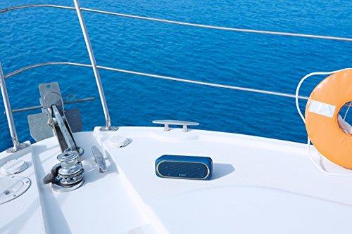 51tvy7B7cmL - Sony SRSXB30/BLUE Portable Wireless Speaker with Bluetooth, Blue