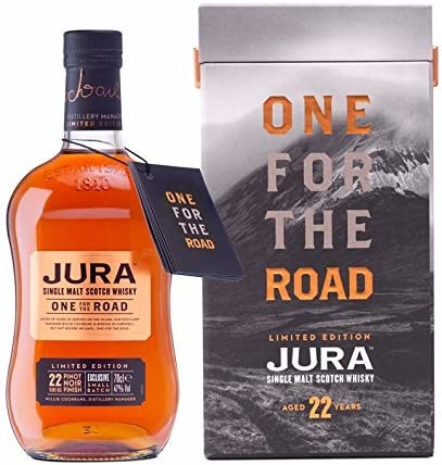 Whisky Isle of Jura One for the Road 22 Year Old Edición Limitada