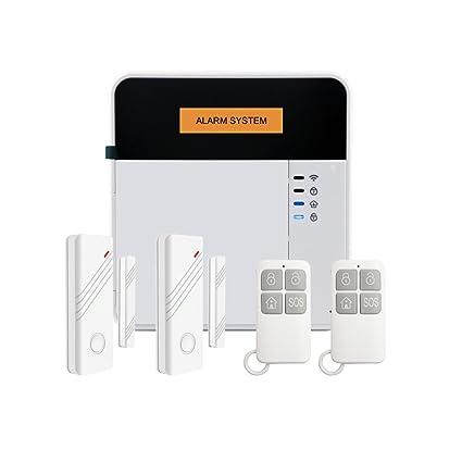 APP SMS inalámbrico detector de movimiento del sensor de alarma sistema de alarma gsm de seguridad
