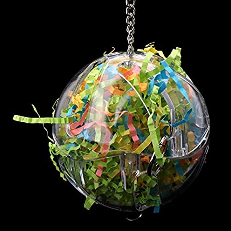 d1ee967ed Bird Toys - 2019 Pet Parrot Toys Ball Strings Bird Parakeet Chew Hanging  Cage Hammock Colorful
