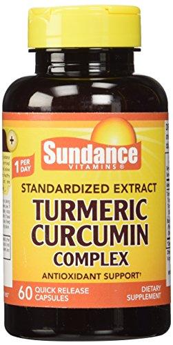 51tw%2B6R2 IL - Sundance Turmeric Curcumin Complex Tablets, 60 Count