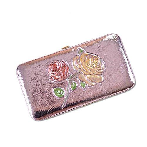 tridimensionale a Rosa telefono Fascia lungo fiori NIAN polso da con da cellulare donna Btfxp