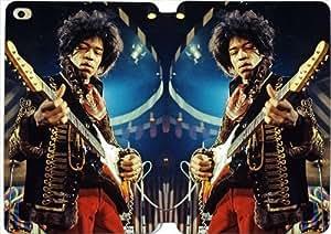 Leather Smart Cover With Flip Stand Phone Case iPad mini 4-Jimi Hendrix-34