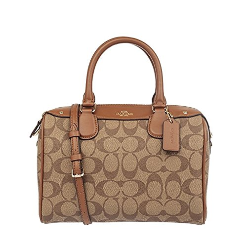 Coach Women's Mini Bennett Satchel, Khaki Saddle by Coach