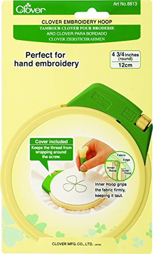 Clover(R 4-3/4 Inch Embroidery Hoop