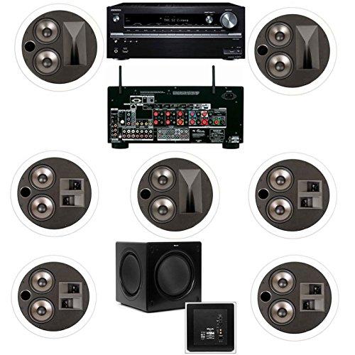 Klipsch KL-7502-THX 7.1 In-Ceiling System-Onkyo TX...